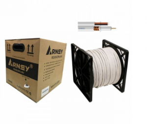 ARNEY RG59 2PA WII 305Mtr, rg6 power, rg6 connector