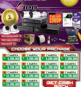 Paket Cctv Gold Keeper, Paket Cctv Keeper, Paket Keeper